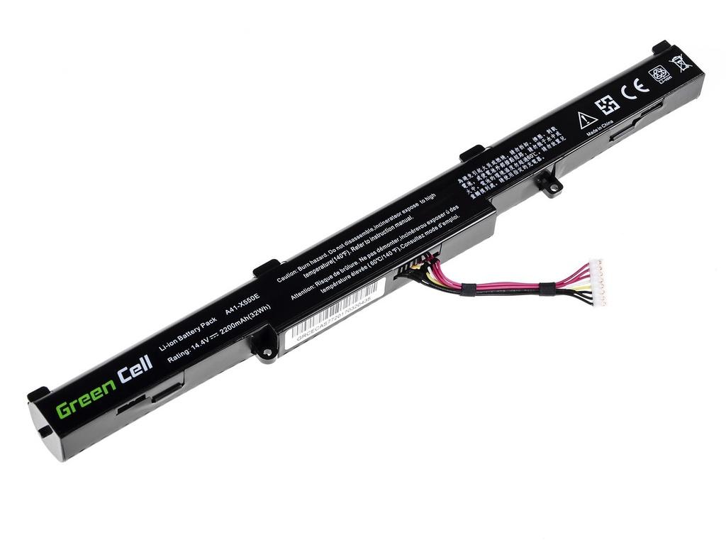 Green Cell Battery for Asus A41-X550E F550D F550DP F750L / 14,4V 2200mAh