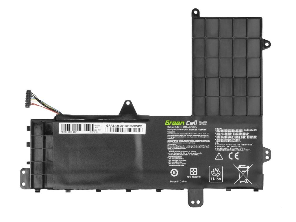Green Cell Battery for Asus EeeBook E502M E502MA / 7,6V 4200mAh