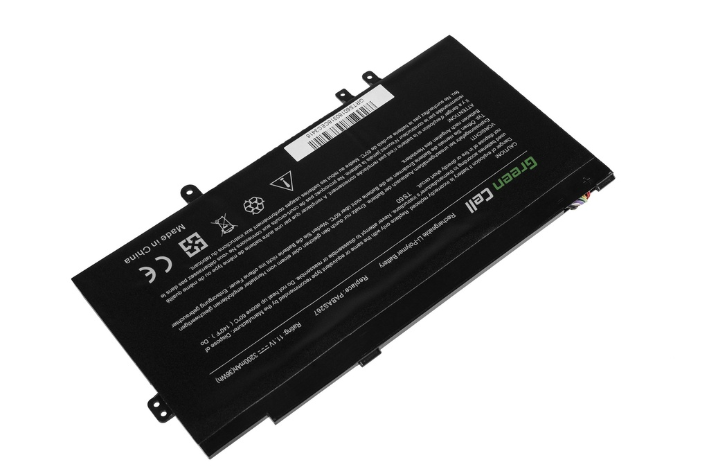 Green Cell PRO Battery for Toshiba Satellite U920t U925t PA5073U-1BRS / 11,1V 3200mAh