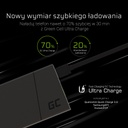 Power Bank Green Cell PRIME 10000mAh with Ultra Charge technology