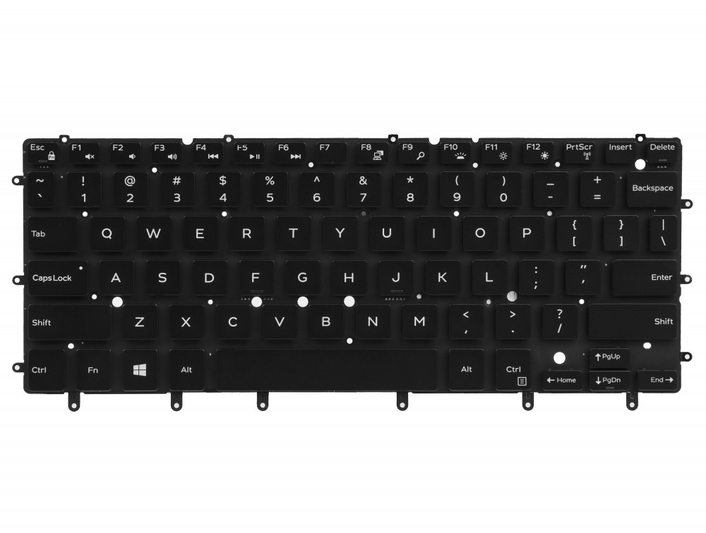 Keyboard for Laptop Dell XPS 15-9550 15-9560 Inspiron 15-7558 15-7568 with backlight