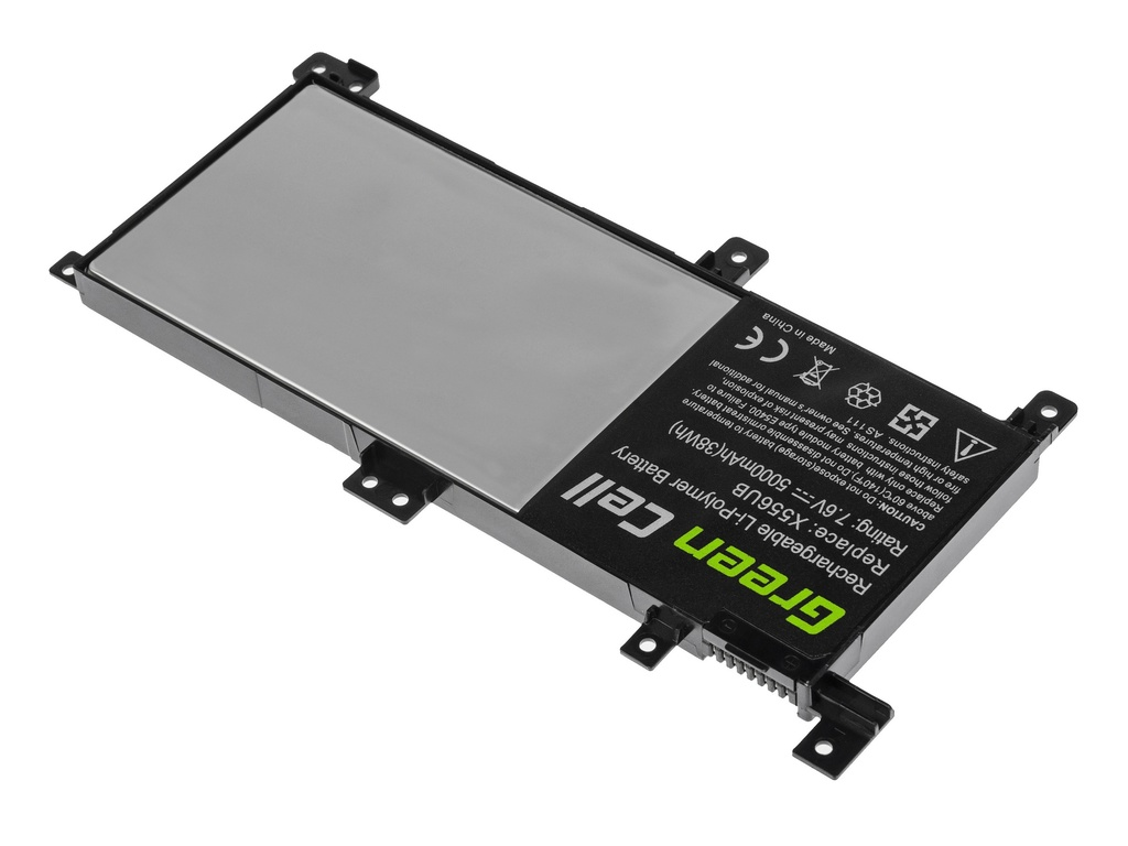 Green Cell Battery for Asus X556U / 7,6V 4100mAh