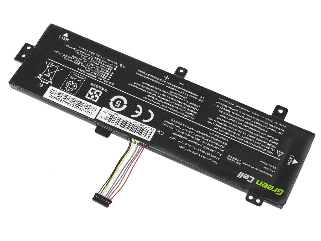 Green Cell Battery for Lenovo V310 V310-14 V310-15 V510 V510-14 V510-15 / 3500 mAh 7.6 V