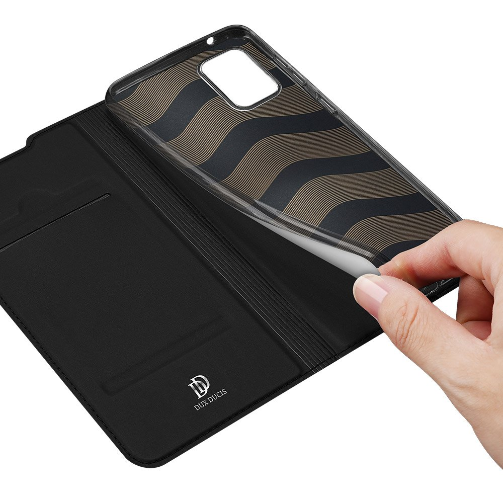 DUX DUCIS Skin Pro Bookcase type case for Samsung Galaxy A51 5G black