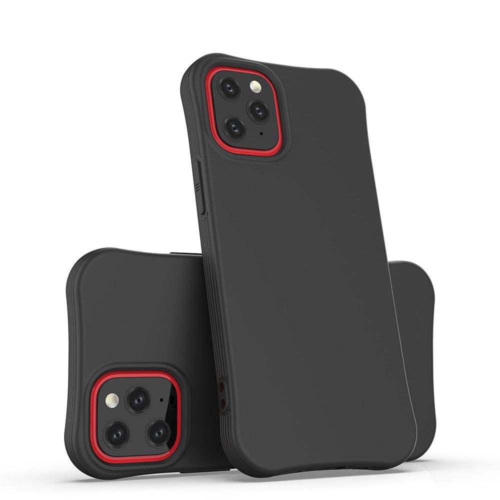 Soft Color Case flexible gel case for iPhone 12 mini black