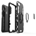 Ring Armor Case Kickstand Tough Rugged Cover for iPhone SE 2020 / iPhone 8 / iPhone 7 black