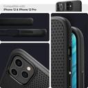 Spigen Liquid Air iPhone 12 Pro / iPhone 12 Matte Black