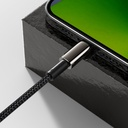 Baseus USB Type C - Lightning cable Power Delivery fast charge 20 W 1 m black (CATLWJ-01)