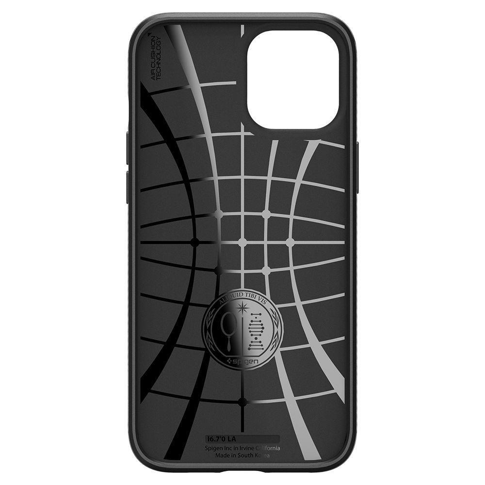 Spigen Liquid Air Iphone 12 Pro Max Matte Black