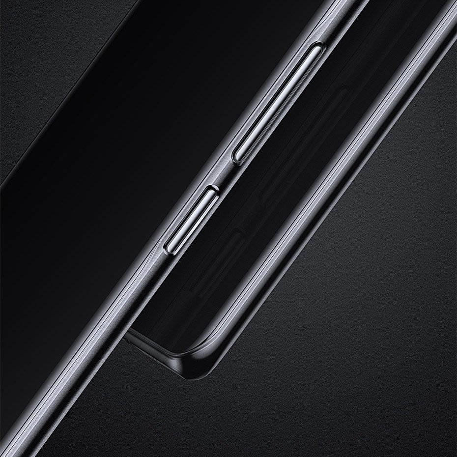 Baseus Wing Case Ultra Thin Lightweight PP Cover for Huawei P30 black-transparent (WIHWP30-01)
