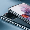 Baseus Simple Series Case Transparent Gel TPU Cover for Samsung Galaxy S20 Ultra transparent (ARSAS20U-02)