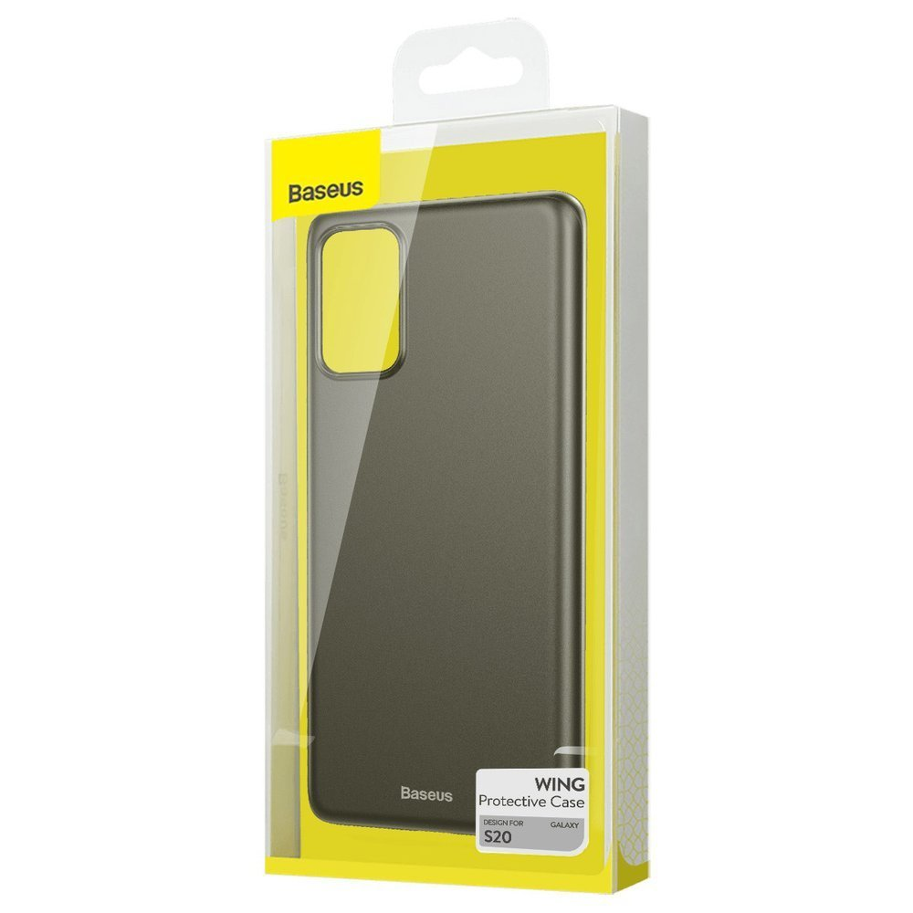 Baseus Wing Case Ultra Thin Lightweight PP Cover for Samsung Galaxy S20 black (WISAS20-A01)