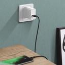 Baseus USB - USB Type C cable VOOC Quick Charge 3.0 5 A 2 m black (CATSW-G01)