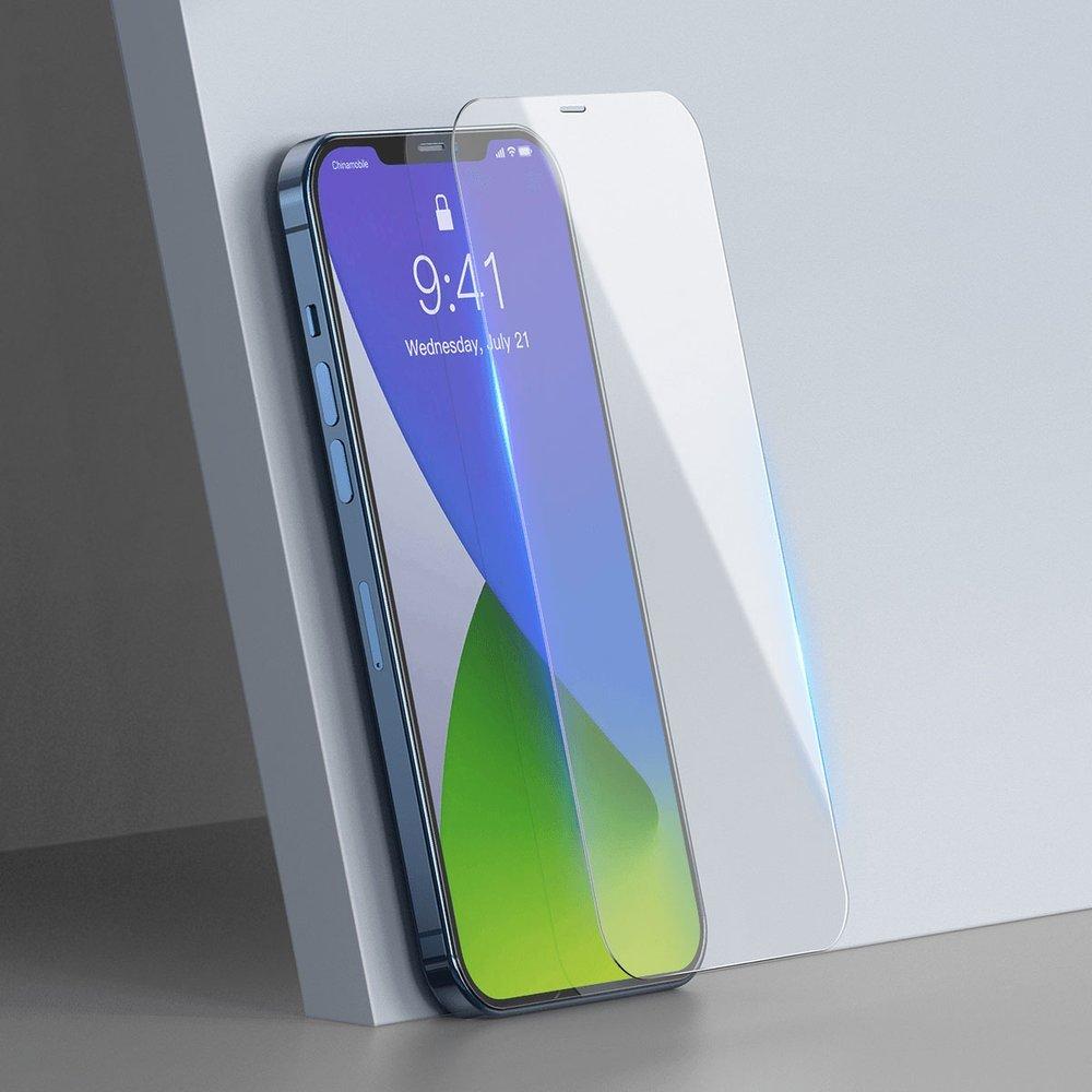 Baseus 2x 0,3 mm tempered glass iPhone 12 Pro Max Transparent (SGAPIPH67N-LS02)
