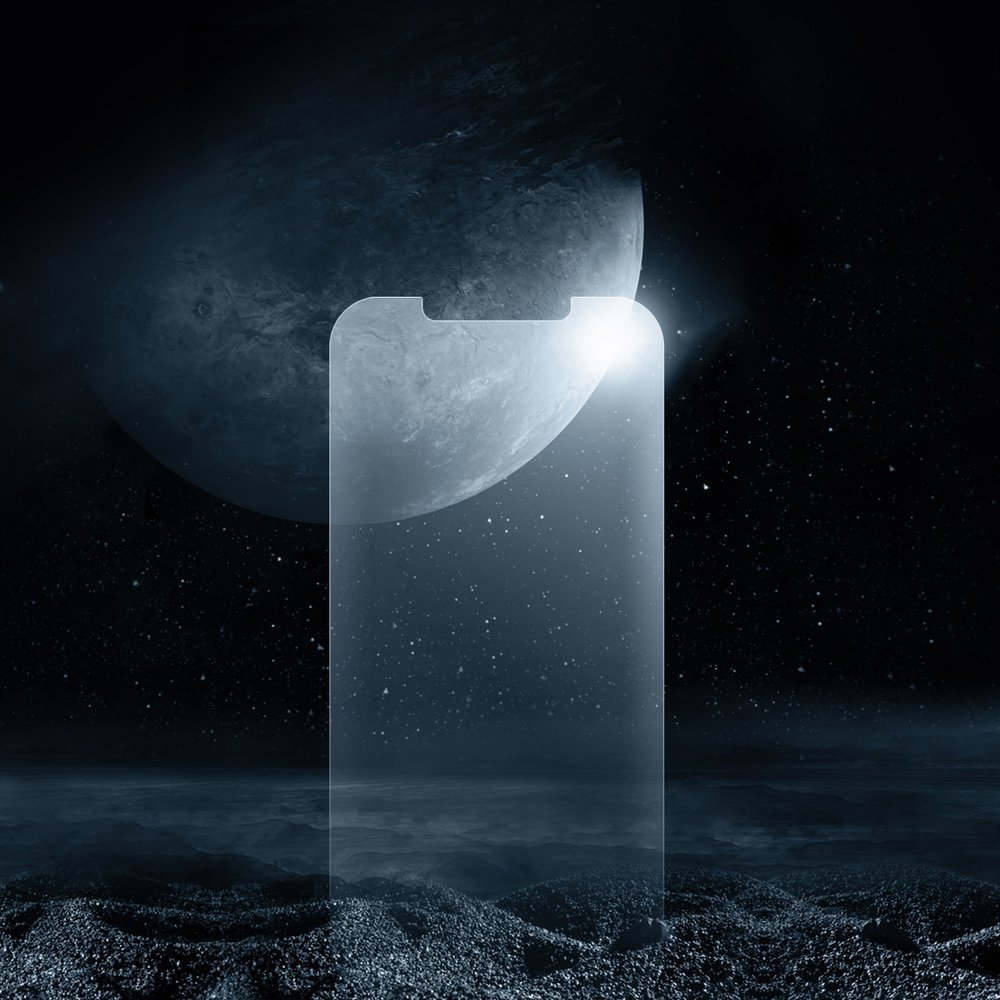 Baseus 2x 0,25 mm frosted tempered glass iPhone 12 Pro / iPhone 12 Transparent (SGAPIPH61P-LM02)