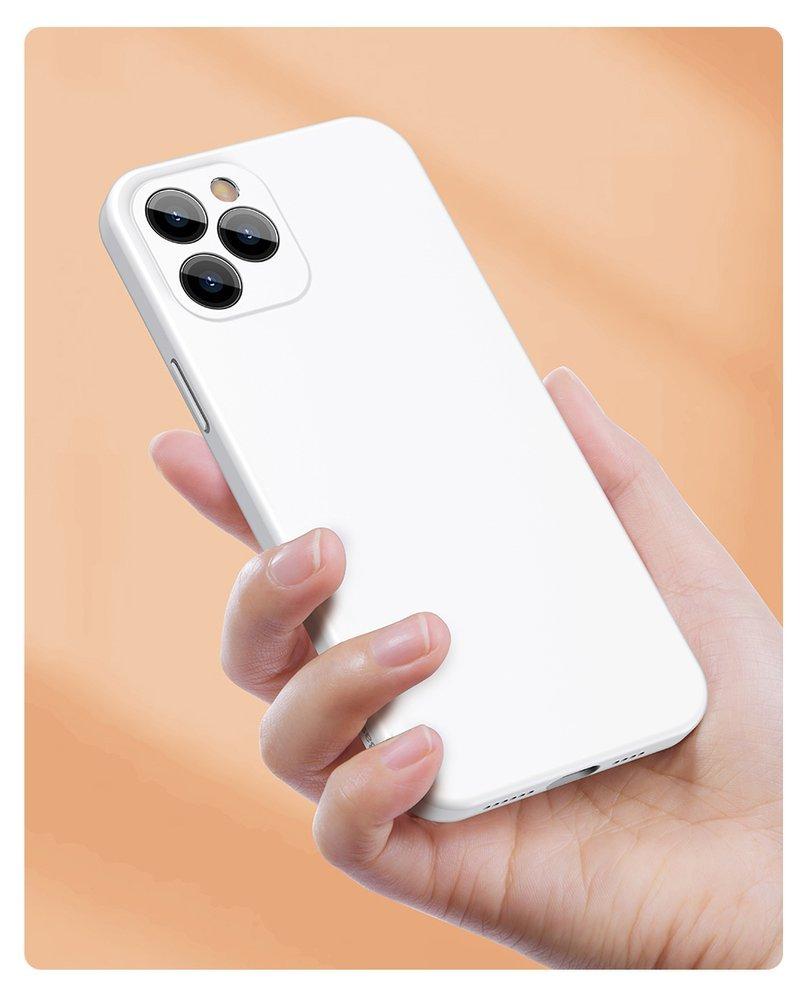Baseus Liquid Silica Gel Case Flexible gel case iPhone 12 Pro Bright red (WIAPIPH61P-YT09)