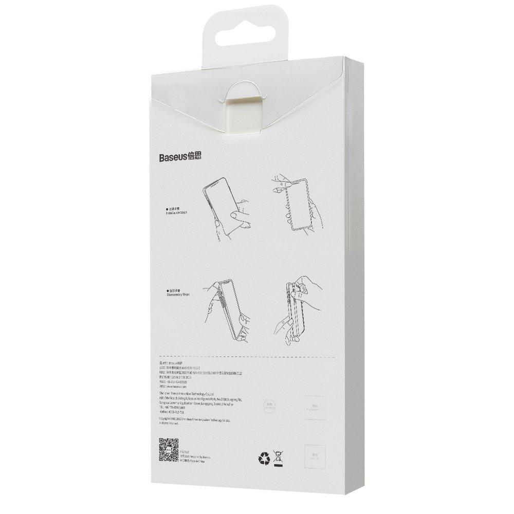 Baseus Liquid Silica Gel Case Flexible gel case iPhone 12 Pro Mint green (WIAPIPH61P-YT6B)