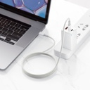 Baseus USB Type C - USB Type C cable Power Delivery Quick Charge 100 W 5 A 2 m white (CATGD-A02)
