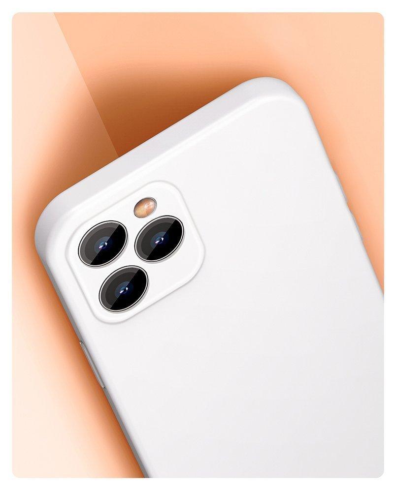 Baseus Liquid Silica Gel Case Flexible gel case iPhone 12 Pro Max Classic black (WIAPIPH67N-YT01)
