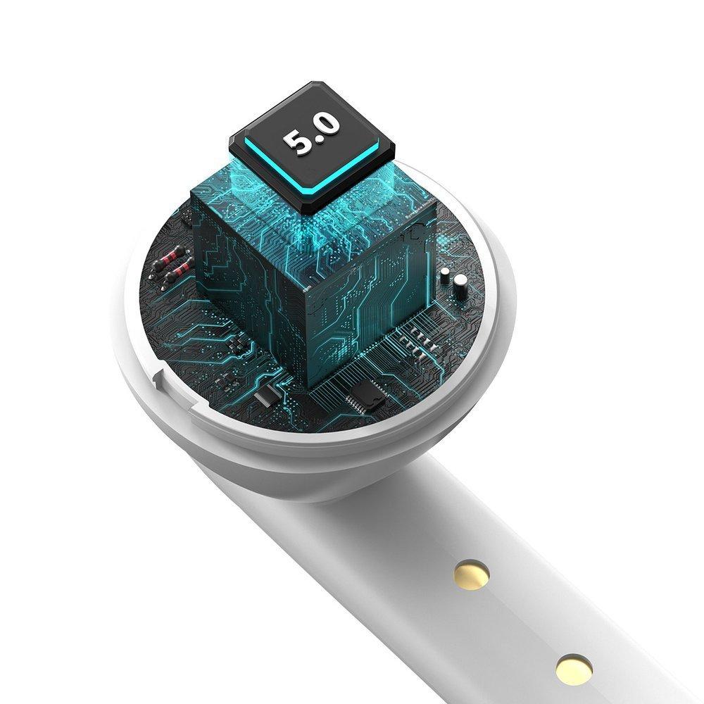 Baseus Encok W05 TWS (True Wireless Stereo) Bluetooth 5.0 wireless earphones  white (NGW05-02)
