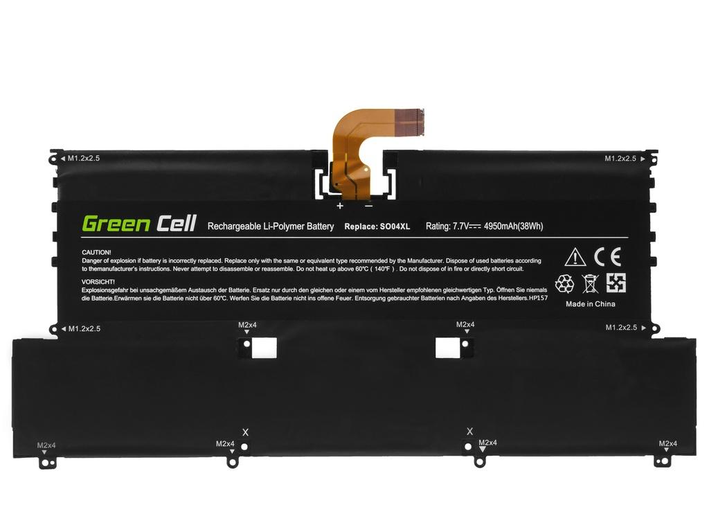 Green Cell Battery SO04XL for HP Spectre 13-V 13-V050NW 13-V070NW 13-V150NW 13-V170NW Spectre Pro 13 G1