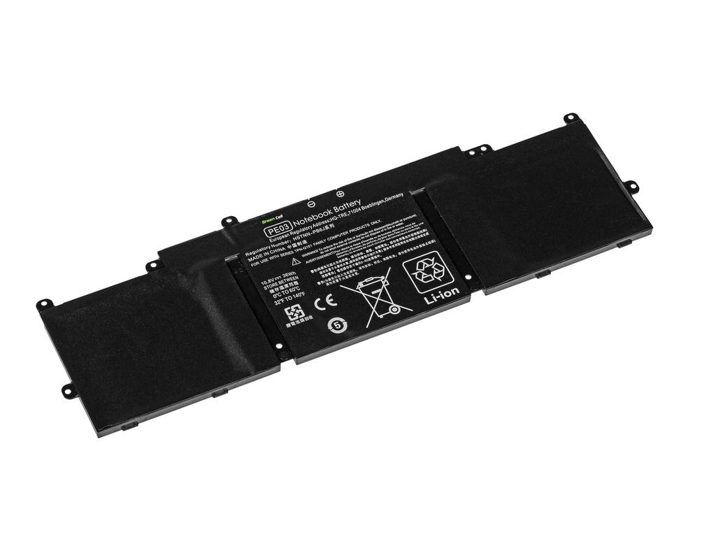 Green Cell Battery for HP Chromebook 11 G3 G4 11-2100 11-2200 / 11,1V 3300mAh