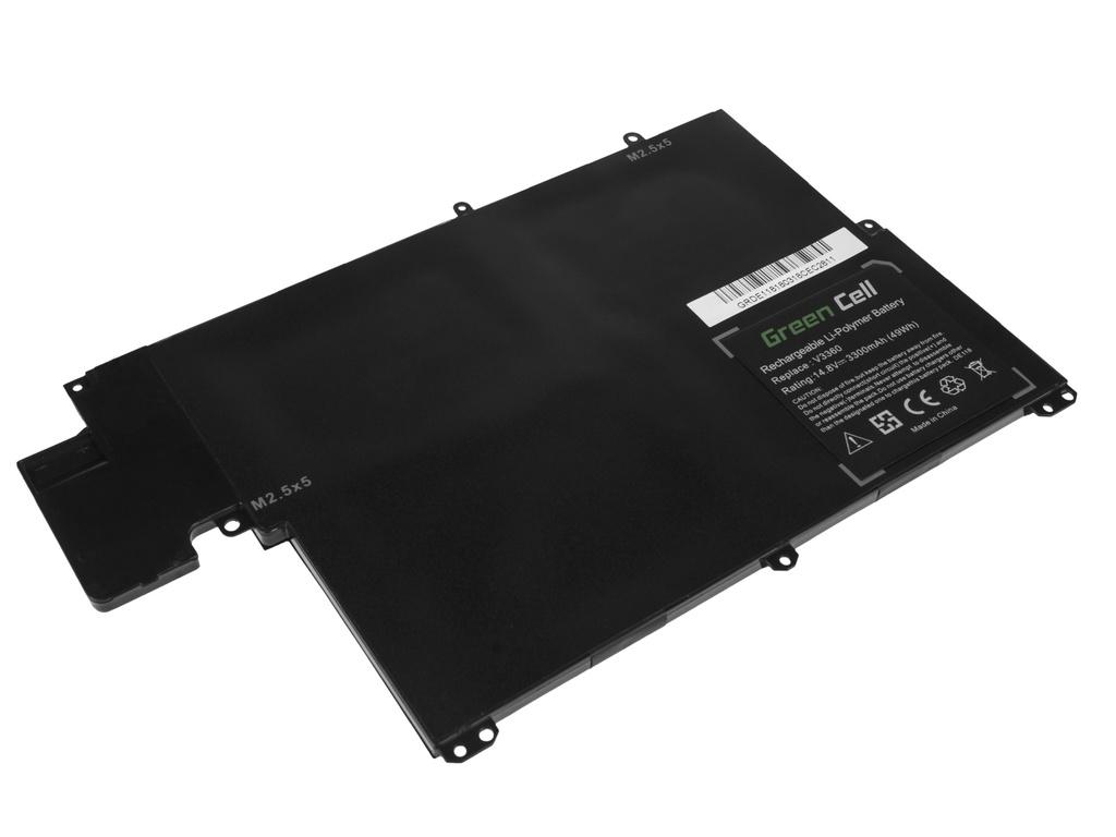 Green Cell Battery for Dell Vostro 3360 Inspiron 13z 5323 TKN25 / 14,4V 3300mAh