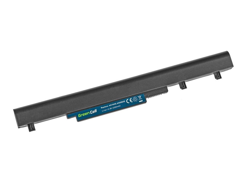 Green Cell Battery for Acer TravelMate 8372 8372G 8372Z 8481 8481G / 14,4V 2200mAh