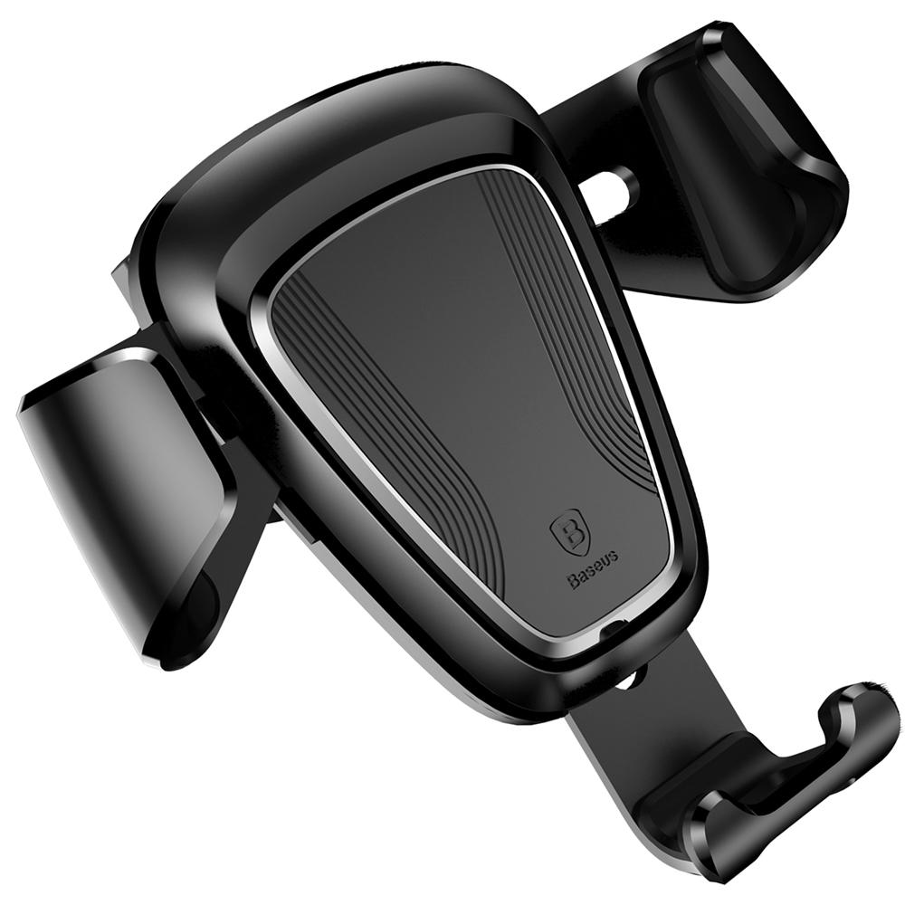 "Baseus Gravity Car Mount Phone Bracket Air Vent Holder for 4-6"" Devices"