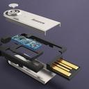 Baseus BA01 USB Wireless Bluetooth 5.0 AUX adapter jack cable black (CABA01-01)