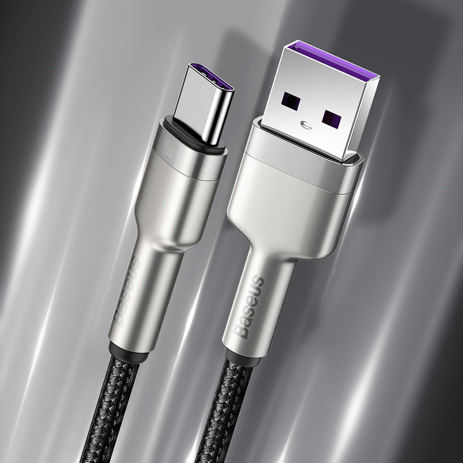 Baseus Cafule Series Metal Data Cable USB to Type-C 40W 1m