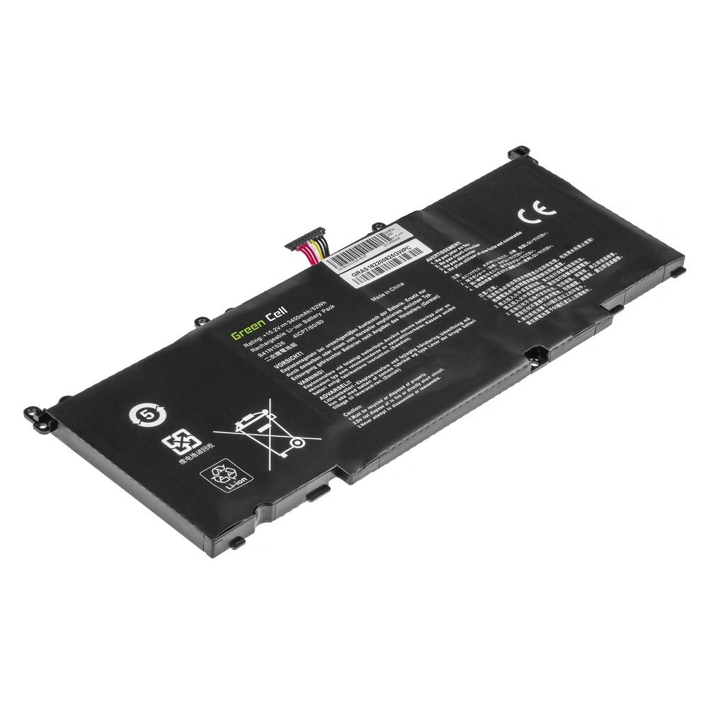 Green Cell Battery B41N1526 for Asus FX502 FX502V FX502VD FX502VM ROG Strix GL502VM GL502VT GL502VY