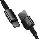 Baseus Tungsten USB - USB Type C cable 66 W (11 V / 6 A) Quick Charge AFC FCP SCP 2 m black