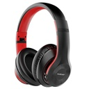 Ausdom wireless over-ear headphones Bluetooth 5.0 ANC (active noise cancellation) black-red