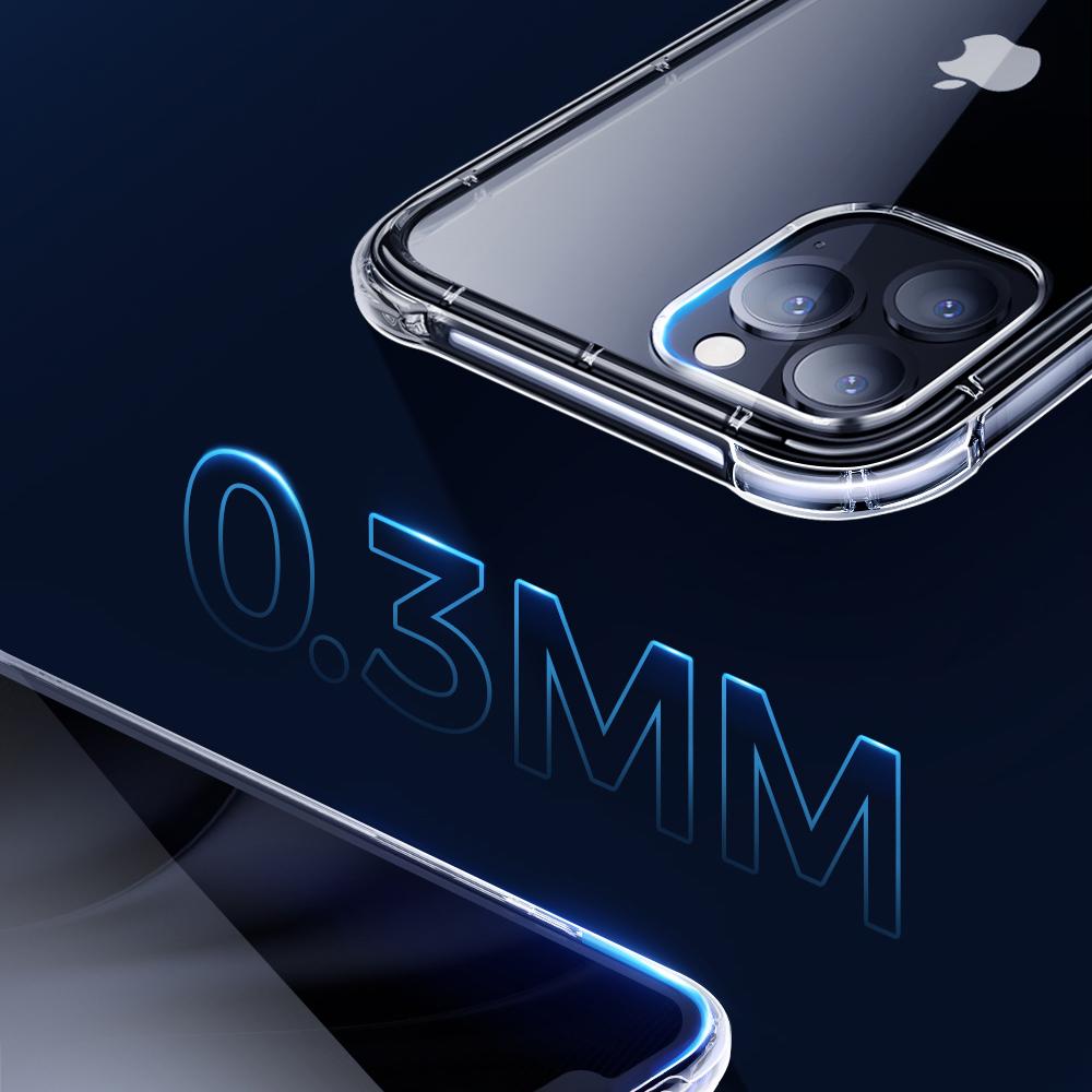 Joyroom Crystal Series durable hard case for iPhone 12 mini transparent