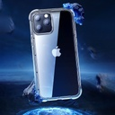 Joyroom Crystal Series durable hard case for iPhone 12 Pro / iPhone 12 transparent