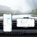 Joyroom mechanical car phone holder for air vent black