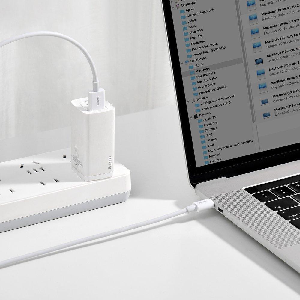 Baseus Superior cable USB - USB TypeC 66 W 6A 2 m