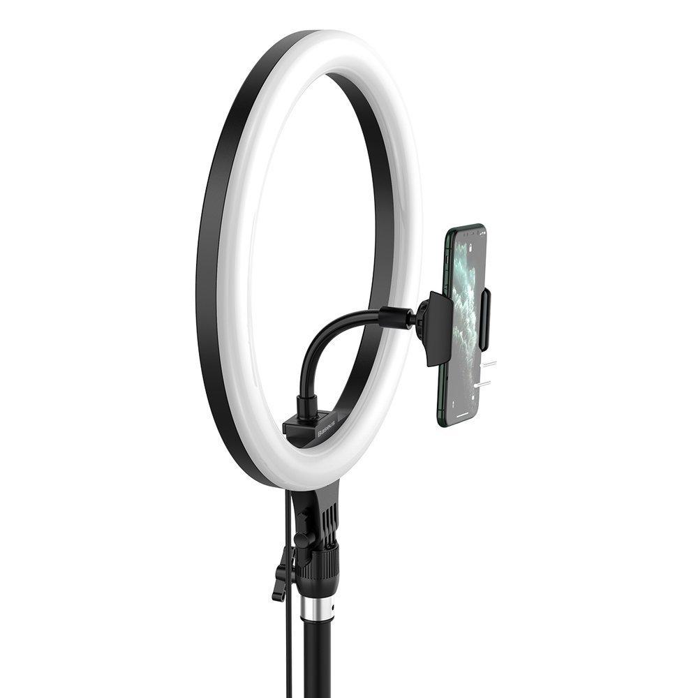 Baseus photo ring flash fill light LED lamp 12'' for smartphone (YouTube, TikTok)