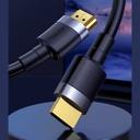 Baseus Cafule HDMI 2.0 cable 4K 60 Hz 3D 18 Gbps 3 m black
