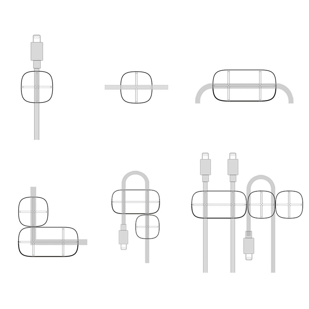 Baseus Cross Peas self-adhesive Cable Organizer Cable Clip