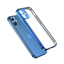 Joyroom New Beauty Series ultra thin case with electroplated frame for iPhone 12 Pro golden