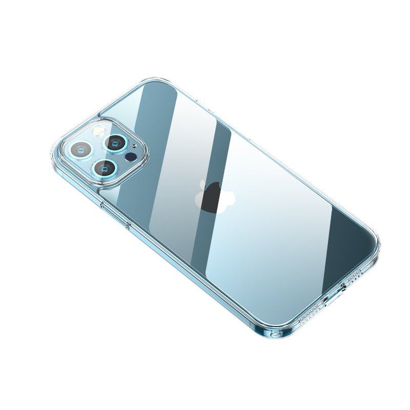 Joyroom Crystal Series durable phone case for iPhone 12 Pro Max transparent