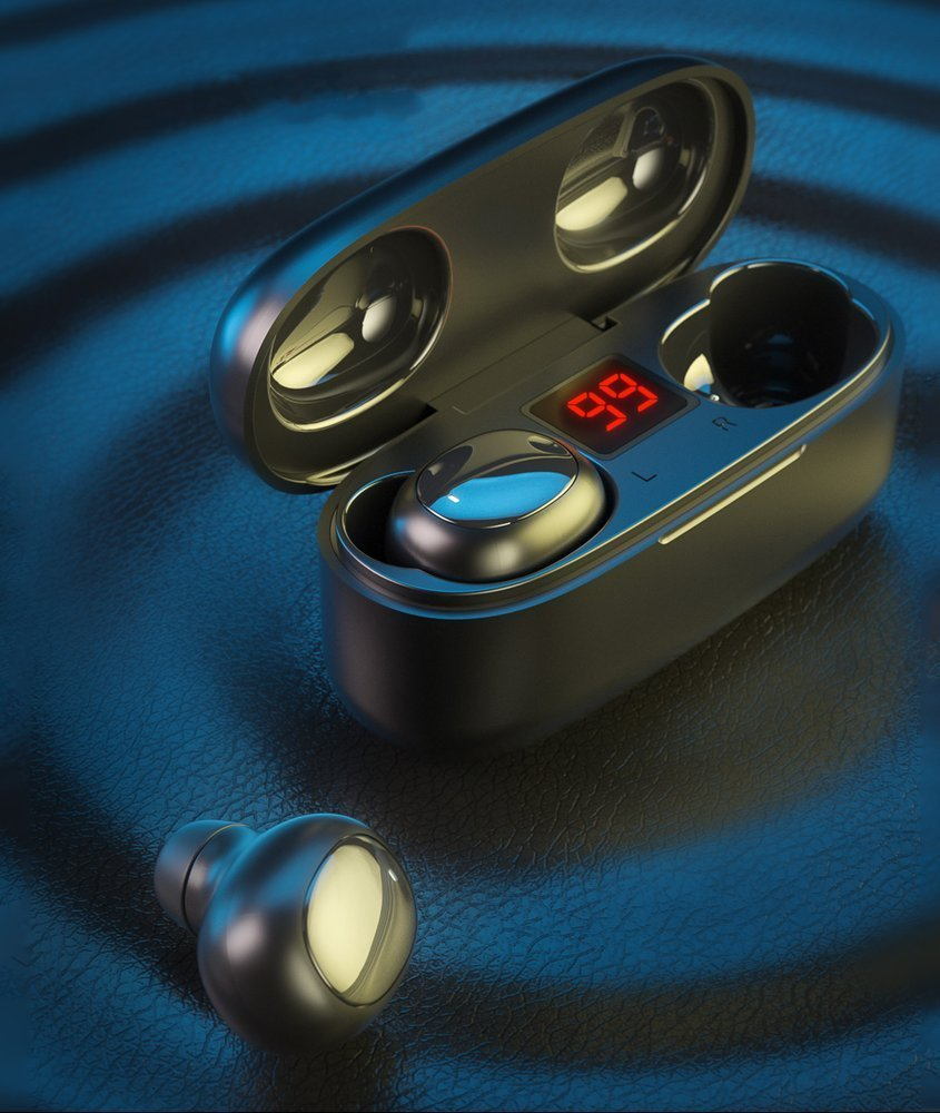WK Design TWS Blutooth True Wireless Earbuds with Wireless Charging Case