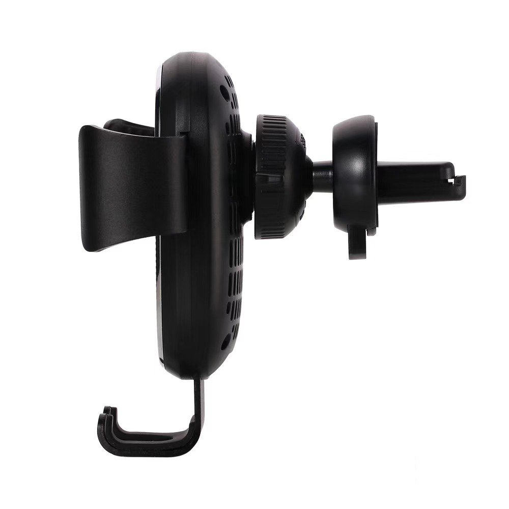 Remax Wireless Charger Gravity Car Mount Phone Bracket Air Vent Holder + Qi Charger 10W black