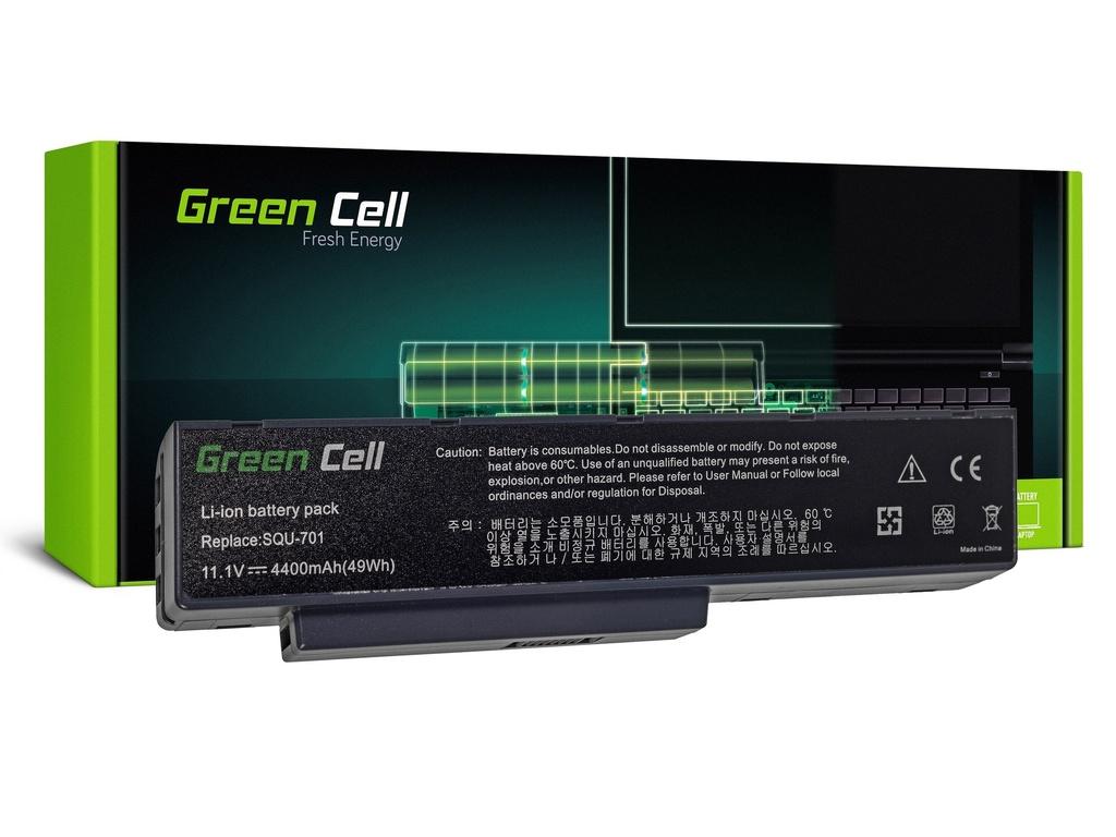 Green Cell baterija za Packard Bell EASYNOTE MB55 MB85 MH35 MH45 MH88 MV / V / 11,1V 4400mAh