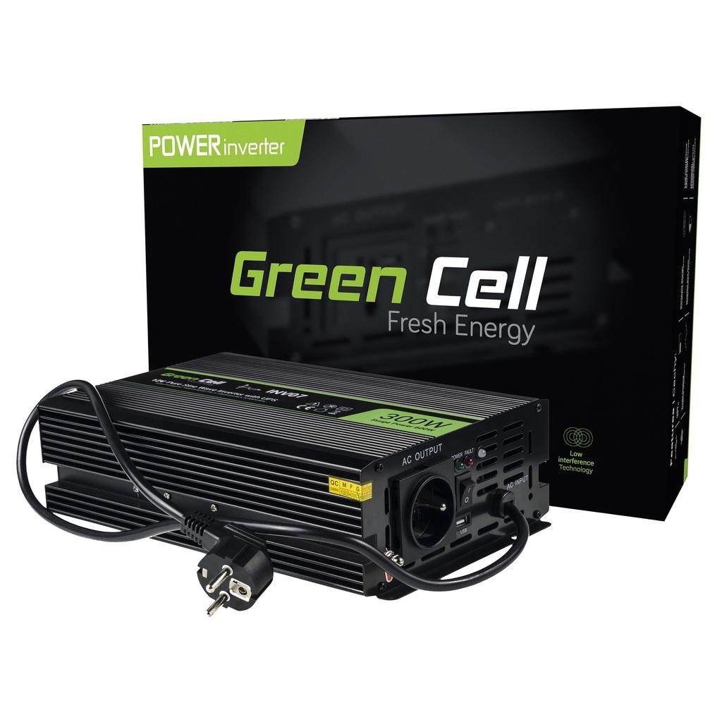 Napajalni UPS Green Cell ® za peči in črpalke za centralno ogrevanje 300W