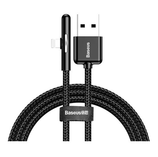 Baseus Mobile Game Elbow lighting podatkovni kabel 2.4A 1m