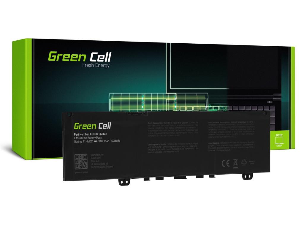 Baterija Green Cell F62G0 za Dell Inspiron 13 5370 7370 7373 7380 7386, Dell Vostro 5370