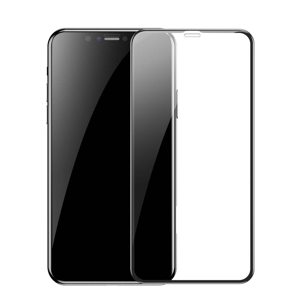 Baseus Full Coverage 3D Steklo za iPhone 11 Pro Max / iPhone XS Max